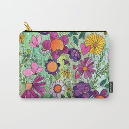 Purple Plum Parfait Carry-All Pouch