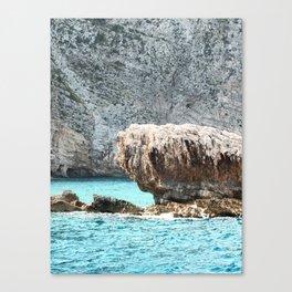ZAkintos. Greece Canvas Print