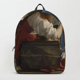 Orazio Gentileschi renascence art Backpack
