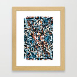 Pattern № 16 Framed Art Print