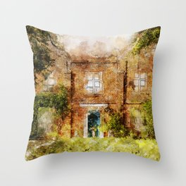 Classic England Throw Pillow