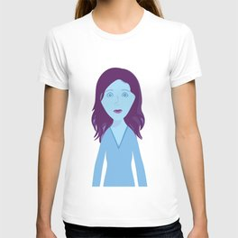 The Girl Who Remains T-shirt