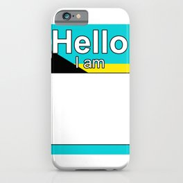 Hello I am from Bahamas iPhone Case