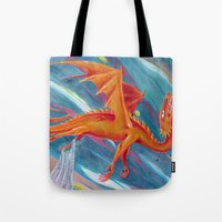 pain Tote Bags featuring PAIN by STELZ (Vlad Shtelts)