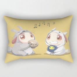 Kirugumi Pups Rectangular Pillow