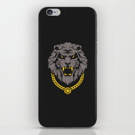 Swag Lion iPhone Skin