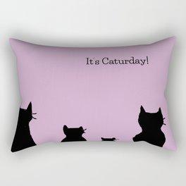 It's a cute Caturday ! Rectangular Pillow