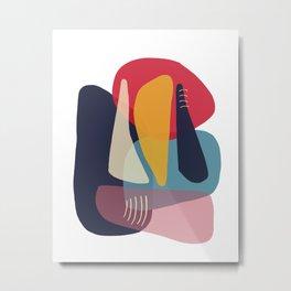 Modern minimal forms 18 Metal Print