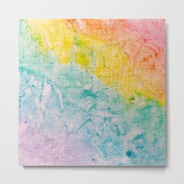 Rainbow Abstract #1 Metal Print