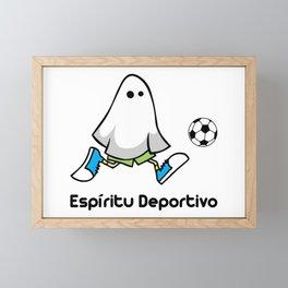 Espiritu deportivo Framed Mini Art Print