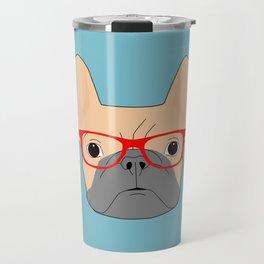 Fawn Bulldog Travel Mug