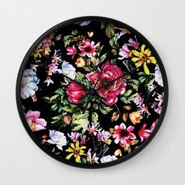 RPE FLORAL VI Wall Clock