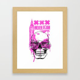 UK Hooligan Framed Art Print