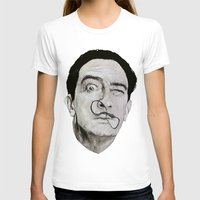 salvador dali T-shirts featuring Salvador Dali by Breanna Speed
