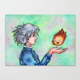 Heart in My Hands Canvas Print