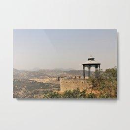 View from a Bridge  Metal Print