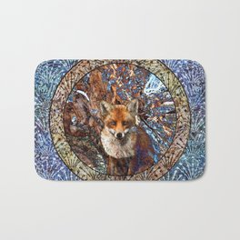 Fox In The Thicket Bath Mat