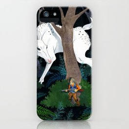 Daniel Boone's Deer iPhone Case