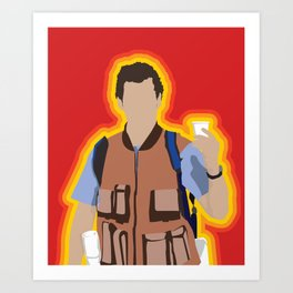 Bobby Boucher: Waterboy Art Print