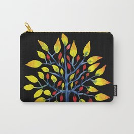 Yellow Tree Carry-All Pouch
