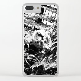Museum 9 Clear iPhone Case