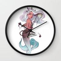 gemini Wall Clocks featuring Gemini by Laia™