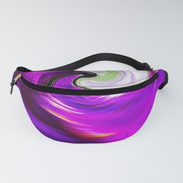"""""""New Wormhole"""" Print Fanny Pack"""