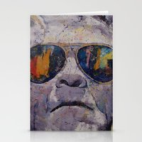 frankenstein Stationery Cards featuring Frankenstein by Michael Creese