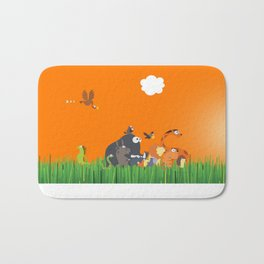 What's going on in the jungle? Kids collection Bath Mat