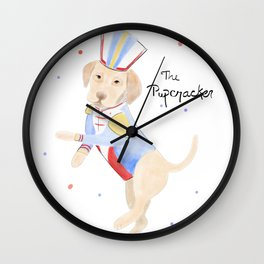 The Pupcracker Wall Clock