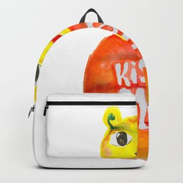 kiss me bear Backpack