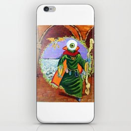 The Ymid steps through the Gate iPhone Skin