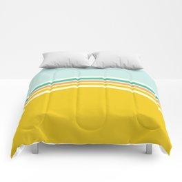 one day –california sunrise Comforters