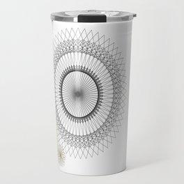 Modern Spiro Art #2 Travel Mug