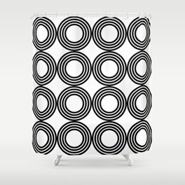 Geometric Pattern 02A Shower Curtain