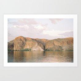 Canyon Lake Print Art Print