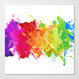 Color it Canvas Print