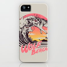 Wolf Beach iPhone SE Slim Case