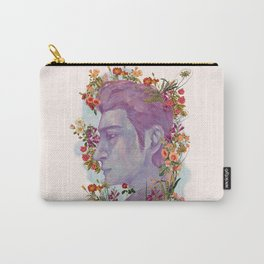 STURDMAN WITH FLOWER DECORATION Carry-All Pouch