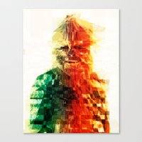chewbacca Canvas Prints featuring Chewbacca by Tom Johnson