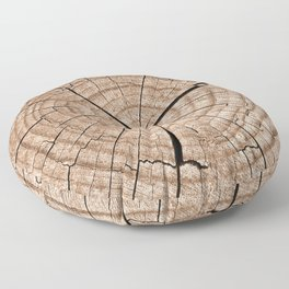 Tree trunk Floor Pillow