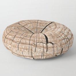 Tree trunk Floor Pillow
