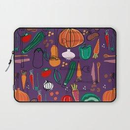 fall veggies purple Laptop Sleeve