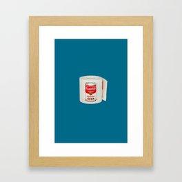 War Roll   Poop Art Framed Art Print