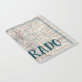 Colorado Map Notebook