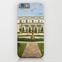 Newport Mansions, Rhode Island - Rosecliff - Original Great Gatsby Mansion by Jeanpaul Ferro iPhone Case