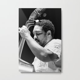 Chris Thomas from the Brian Blade and the Fellowship Band. XII Panama Jazz Festival Metal Print