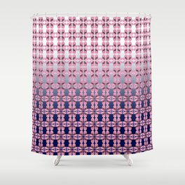 Pink Lips Gasp Shower Curtain