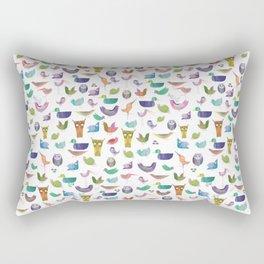 BIRD CROWD Rectangular Pillow