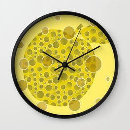 Golden Delicious Wall Clock